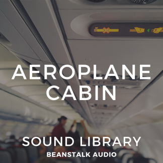 Artwork for the Aeroplane Cabin Sounds Library